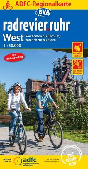 Radrevier.ruhr West fietskaart
