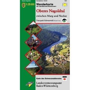 Oberes Nagoldtal 1:35d Np Schwarzwald Mt