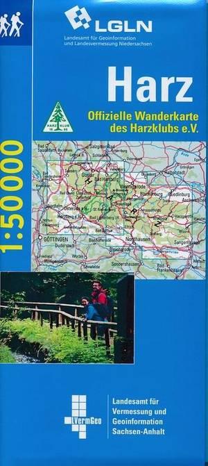 Harz wandelkaartenset van Ostharz en Westharz