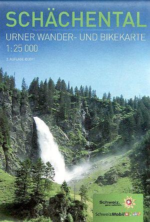 Schachental 1:25.000 Urner Wandel Fietskaart