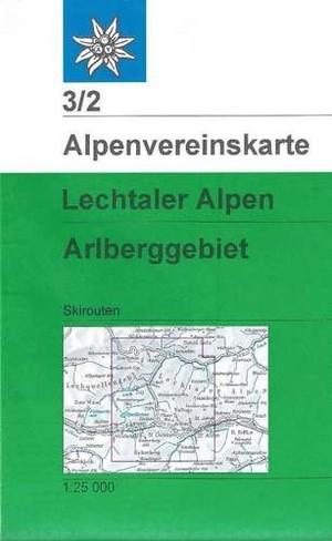 Lechtaler N12 Alpen Arlberggebiet 32 Ski