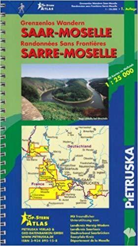 Saar-moselle Atlas 1:25.000