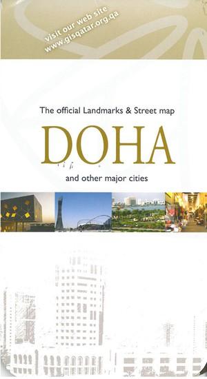 Qatar & Doha stadsplan (Engels)
