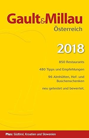 Gault & Millau Osterreich 2018