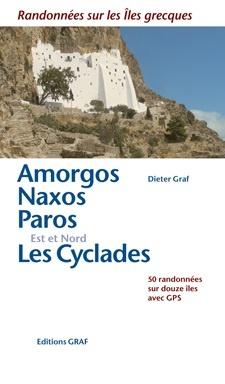 Amorgos / Naxos / Paros / Est & Nord Les Cyclades 50 r. GPS