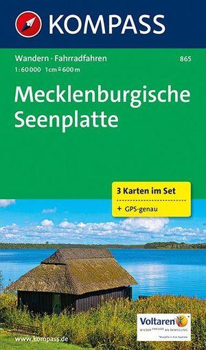 Kompass WK865 Mecklenburgische Seenplatte