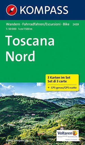 Kompass WK2439 Toskana Nord