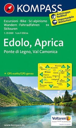 Kompass WK94 Edolo-Aprica
