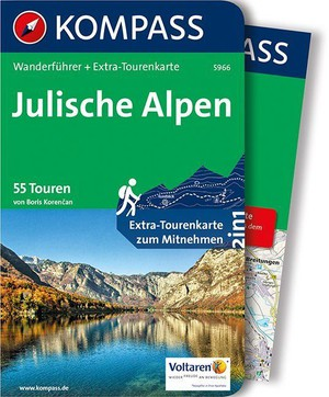 Julische Alpen Kompass wandelgids WF5966