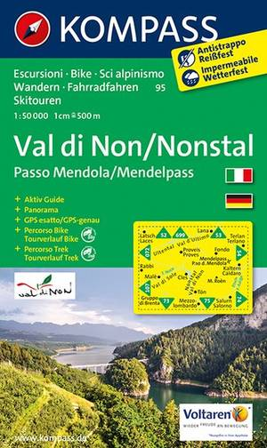 Kompass WK95 Nonstal/Valle di Non