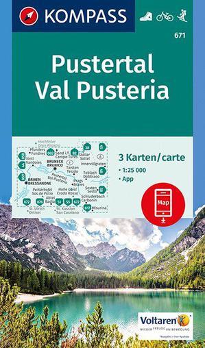 Kompass WK671 Pustertal / Val Pusteria