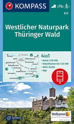 Kompass WK812 Westlicher Naturpark Thüringer Wald