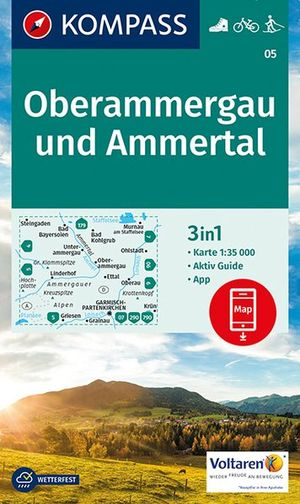 Kompass WK05 Oberammergau und Ammertal