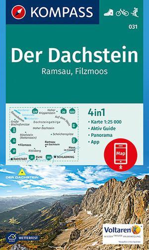 Kompass WK031 Der Dachstein, Ramsau, Filzmoos