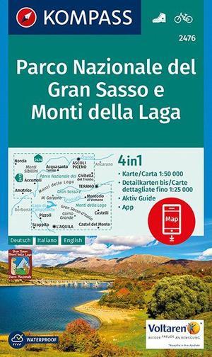 Parco Nazionale del Gran Sasso e Monti della Laga 1:50 000
