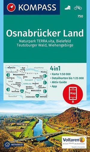 Kompass WK750 Osnabrücker Land, Naturpark Terra Vita