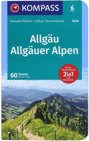 Allgäu, Allgäuer Alpen Kompass wandelgids Wf5456