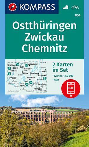 Ostthüringen, Zwickau, Chemnitz 1:50 000