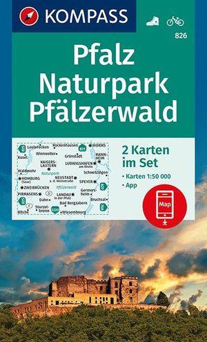 Pfalz, Naturpark Pfälzerwald 1 : 50 000