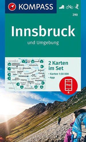Innsbruck & Umgebung 2-Set + Naturführer