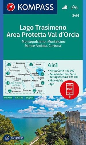 Lago Trasimeno / Area Protetta / Val d'Orcia D/E/I