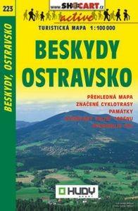 223 Beskydy Ostravsko 1:100k Shocart