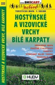 222 Hostynske Vizovicke Vrchy 1:100d