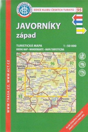 Kct95 Javorniky Zapad 1:50.000