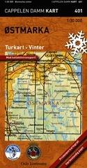 Ck401 Ostmarkaturkart Vinter 1:30.000