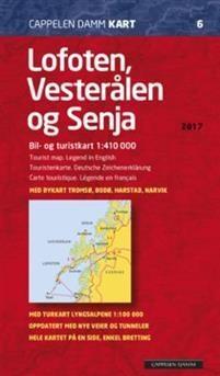 Ck6 Lofoten, Vesteralen Og Senja 1:410.000