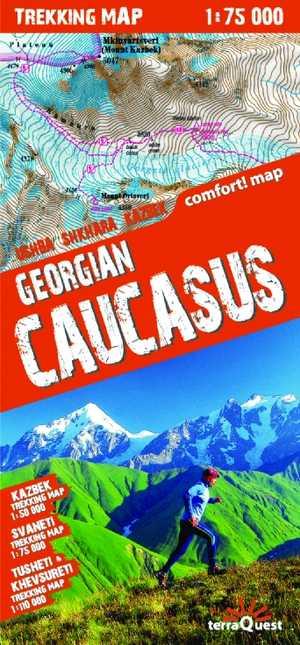 Kaukasus Georgië gepl.