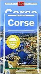 Corse explore gids + atlas + kaart