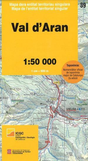 Icc 39 Val D'aran 1:50.000 (8e)
