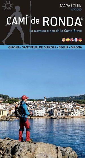 Cami De Ronda 1:40d Ed. Alpina 107 Mapa En Guia