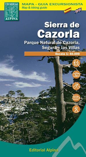 Sierra De Cazorla Segura Y Las Villas 1:40d Mapa Guia
