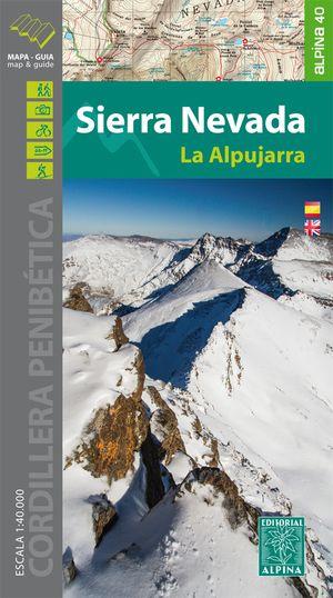 Sierra Nevada / La Alpujarra Map And Hiking Guide