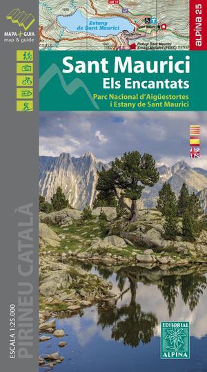 Sant Maurici / Els Encantats map&hiking guide