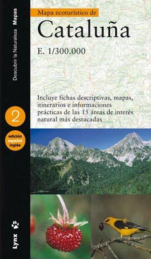 Cataluna Mapa Ecoturistico 1:300d