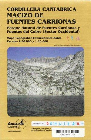Mazico De Fuentes Carrionas West 1:50.000