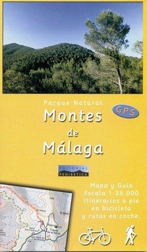 Montes De Malaga Mapa & Guia 1:25.000