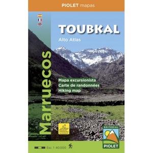 Toubkal (alto Altas) 1:40.000