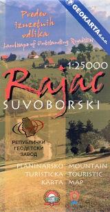 Rajac Mounatin Suvoborski 1:25.000
