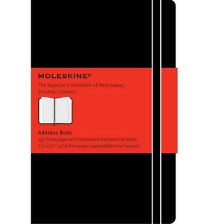 Moleskine Pocket Address book/Repertoire