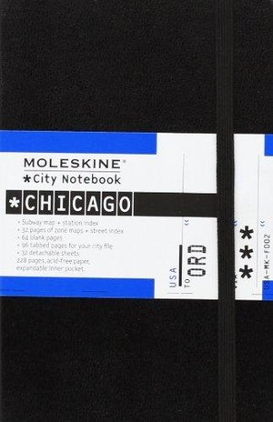 Moleskine Pocket City Notebook Chicago