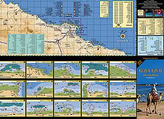Dahab Diving & City Maps
