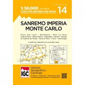 14 San Remo Imperia 1:50.000