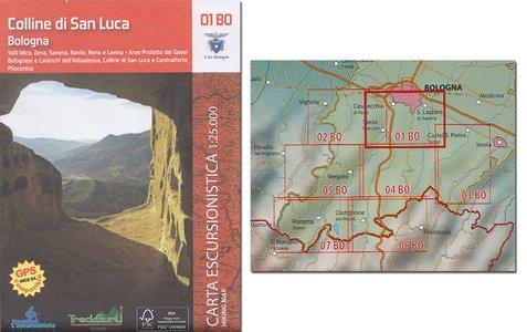 01 Bo Colline Di San Lucca Bologna 1:25.000