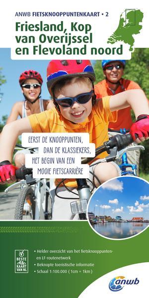 Friesland, Kop van Overijssel en Flevoland