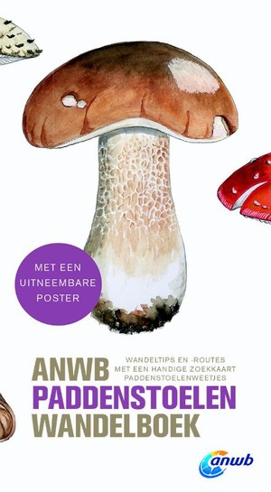 Het ANWB paddenstoelen wandelboek