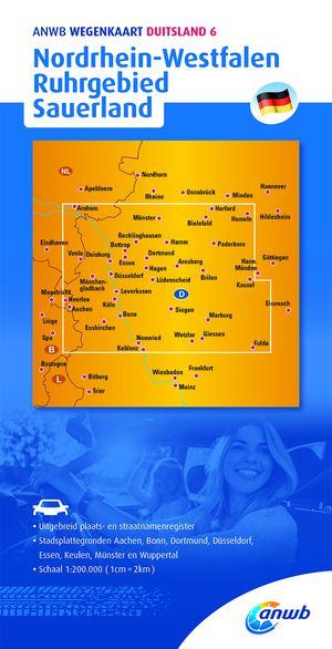 Duitsland 6 Nordrhein-Westfalen, Ruhrgebied, Sauerland